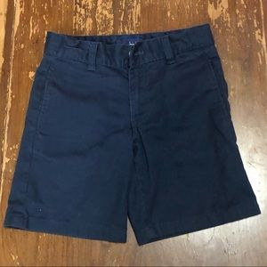 Boys navy blue school uniform shorts size 6